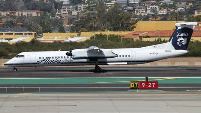 N450QX - Bombardier Dash 8-Q402 - Alaska Airlines (Horizon Air)