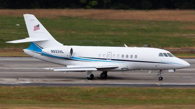 N923AL - Dassault Falcon 2000 - Private