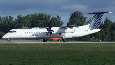 A picture of CGLQE - De Havilland Canada Dash 8400 - Porter Airlines - © PAUL LINK