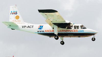 VP-ACT - Britten-Norman BN-2B-20 Islander - Anguilla Air Services