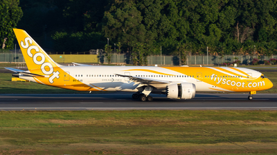 A picture of 9VOJG - Boeing 7879 Dreamliner - Scoot - © Sua Ding Zhe