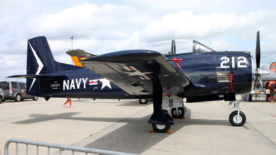 N343NA - North American T-28B Trojan - Private