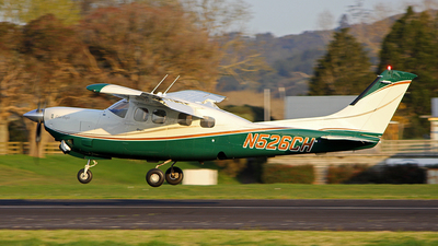N526CH - Cessna P210N Silver Eagle - Private