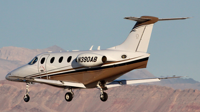 N390AB - Hawker Beechcraft 390 Premier IA - Private