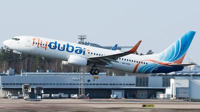 A picture of A6FER - Boeing 7378KN - FlyDubai - © Teemu Pesonen