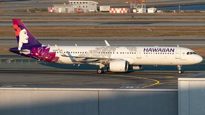 A picture of N209HA - Airbus A321271N - Hawaiian Airlines - © Nailah Blake