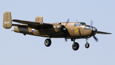 PH-XXV - North American B-25N Mitchell - Duke of Brabant Air Force (DBAF)