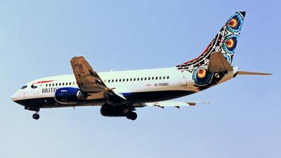 G-OGBC - Boeing 737-34S - British Airways (GB Airways)