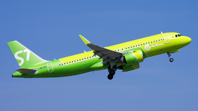 A picture of VQBDQ - Airbus A320271N - S7 Airlines - © Sergey Popkov