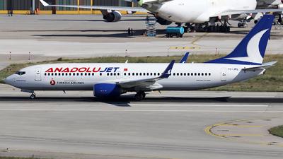 TC-JFL - Boeing 737-8F2 - AnadoluJet
