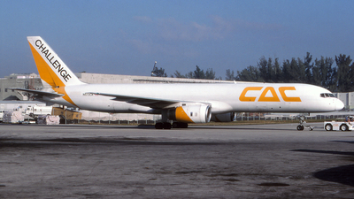 N573CA - Boeing 757-23A(PF) - Challenge Air Cargo (CAC)