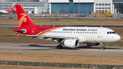 A picture of B6197 - Airbus A319115 - Shenzhen Airlines - © ZGGG RWY01