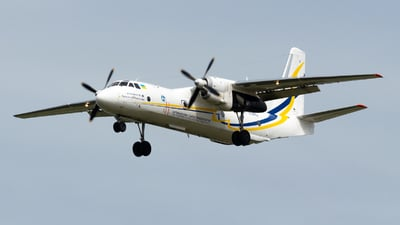 A picture of UR13395 - Antonov An26100 - Antonov Design Bureau - © Julian Azeroth