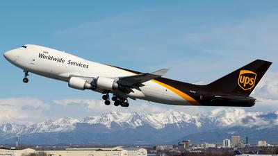N574UP - Boeing 747-44AF(SCD) - United Parcel Service (UPS)