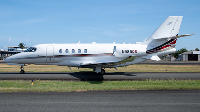 N585QS - Cessna Citation Latitude - NetJets Aviation