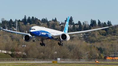 A picture of N779XW - Boeing 7779 - Boeing - © SpotterPowwwiii