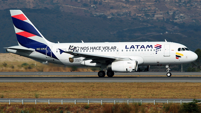 HC-CPZ - Airbus A319-132 - LATAM Airlines