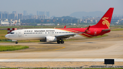 A picture of B1936 - Boeing 73787L - Shenzhen Airlines - © wingsofchina