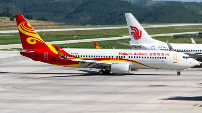 A picture of B5406 - Boeing 73784P - Hainan Airlines - © EVAesen29