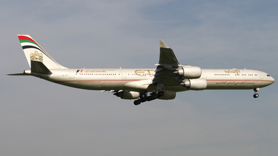 A6-EHI - Airbus A340-642 - Etihad Airways