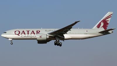 A picture of A7BFT - Boeing 777F - Qatar Airways - © Timothy Brandt