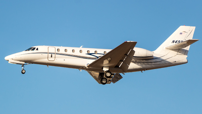 N499GB - Cessna 680 Citation Sovereign - Private