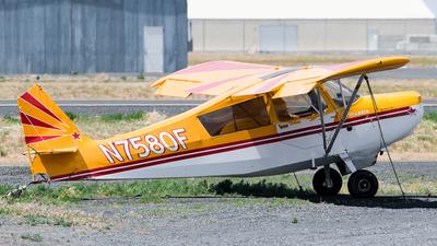 N7580F - Champion 7ECA Citabria - Private