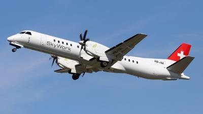 HB-IYA - Saab 2000 - Sky Work Airlines