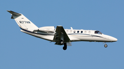 N177HN - Cessna 525 Citation CJ3 - Private