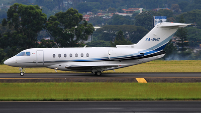 XA-BUD - Hawker Beechcraft 4000 - Private