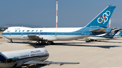 SX-OAB - Boeing 747-284B - Olympic Airways