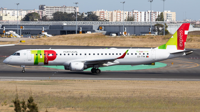 CS-TTW - Embraer 190-200IGW - TAP Express