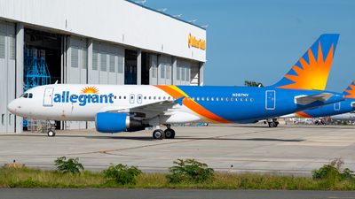 N287NV - Airbus A320-214 - Allegiant Air