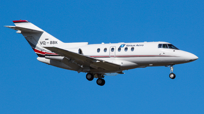 VQ-BBK - Hawker Beechcraft 750 - Sirius Aero