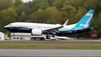 N7202U - Boeing 737-7 MAX - Boeing Company