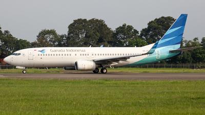 A picture of PKGNH - Boeing 7378U3 - Garuda Indonesia - © Herison Riwu Kore