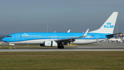 PH-BXW - Boeing 737-8K2 - KLM Royal Dutch Airlines