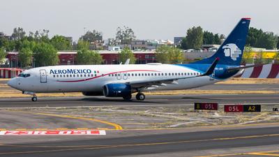 A picture of XAJOY - Boeing 737852 - Aeromexico - © Arturo Quintero