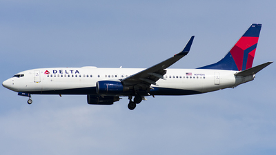 A picture of N391DA - Boeing 737832 - Delta Air Lines - © Wes B