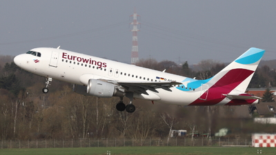 A picture of DABGP - Airbus A319112 - Eurowings - © Holger Eultgen