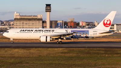 JA615J - Boeing 767-346(ER) - Japan Airlines (JAL)