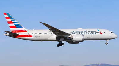 A picture of N871AY - Boeing 7878 Dreamliner - American Airlines - © Johannes Wirl