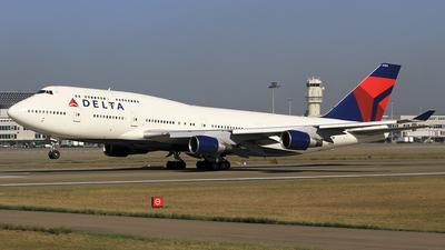 N664US - Boeing 747-451 - Delta Air Lines