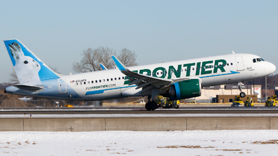A picture of N304FR - Airbus A320251N - Frontier Airlines - © Alec Mollenhauer