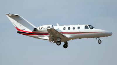 LV-JUM - Cessna 525 Citationjet CJ1 - Royal Class