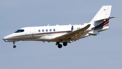 A picture of CSLTG - Cessna 680A Citation Latitude - NetJets - © Javier Rodriguez - Amics de Son Sant Joan