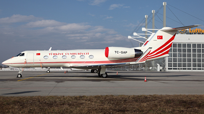 TC-GAP - Gulfstream G-IV - Turkey - Government