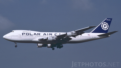 N855FT - Boeing 747-124(SF) - Polar Air Cargo