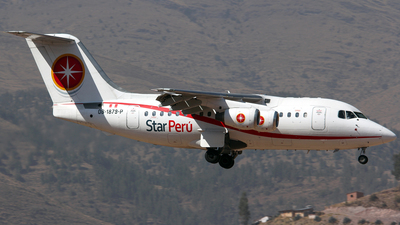 OB-1879-P - British Aerospace BAe 146-100 - Star Perú