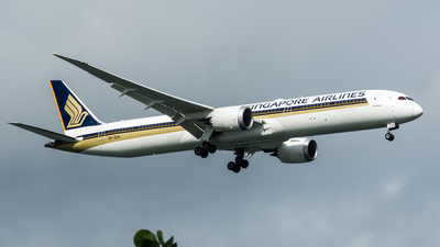 9V-SCH - Boeing 787-10 Dreamliner - Singapore Airlines